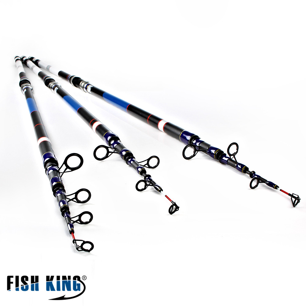 FISH KING High Quality Fishing Tackle 3.9M 4.2M 4.5M 99% Carbon Lure Fishing Rod Spinning Casting Rod Carp Pole top quality fishing tackle box plastic handle fish box carp fishing lure tool fishing accessories case