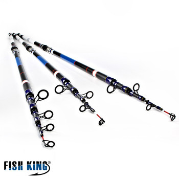 FISH KING High Quality Fishing Tackle 3.9M 4.2M 4.5M 99% Carbon Lure Fishing Rod Spinning Casting Rod Carp Pole