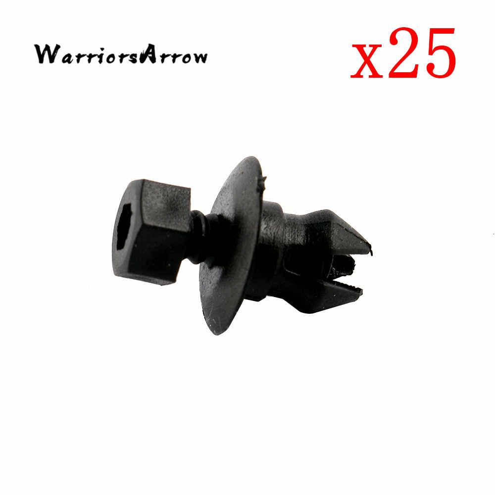 WarriorsArrow 25Pcs Exterior Sill Moulding & Side Skirt Trim Clips For VW Passat CC 2012-2017 For Audi Q5 2009-2017 3C0853934