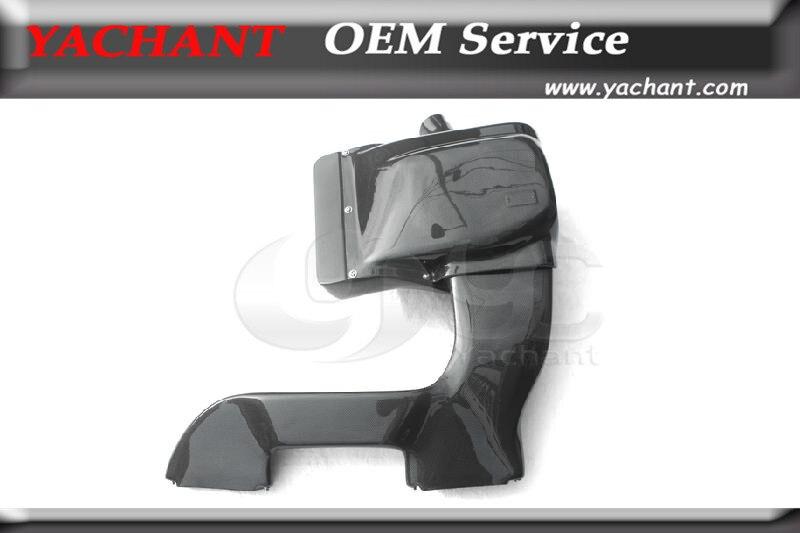 Стайлинга автомобилей углерода Волокно воздухозаборника комплект подходит для 2010-2012 1 м купе и 135i галл./мин Стиль Air комплект для забора