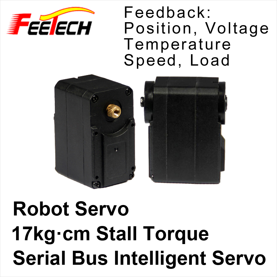 все цены на Robot Serial Bus Intelligent Servo, Feetech SCS215 Servo, 17kg cm Torque, Speed Voltage Load Position Temperature Feedback онлайн