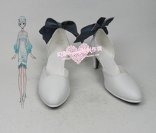 VOCALOID Yan He cosplay Shoes Boots Custom Made 684(China)