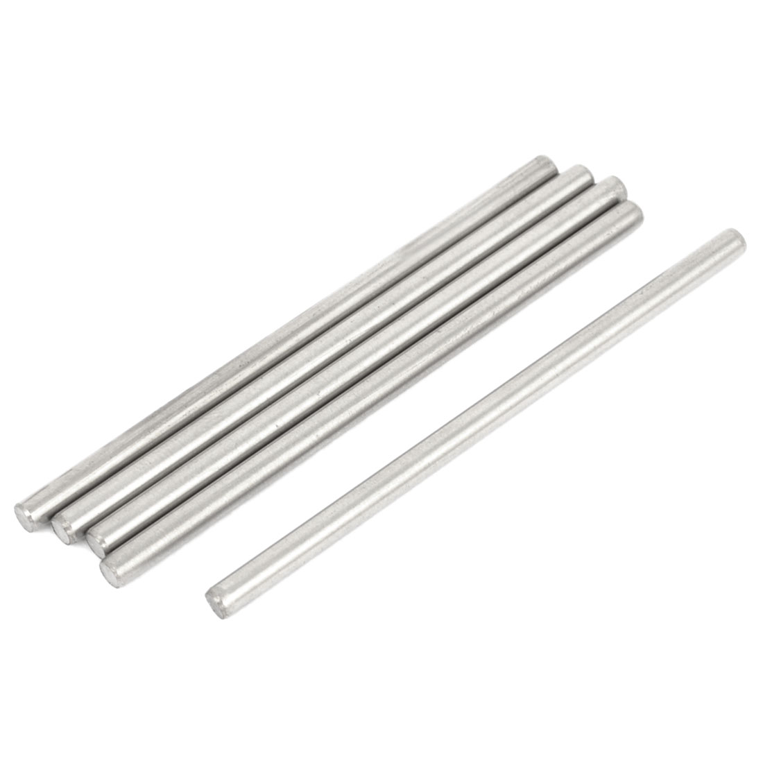 5 Pcs <font><b>3mm</b></font> Dia 6cm Long Stainless Steel RC Helicopter Transmission Round <font><b>Rods</b></font> image