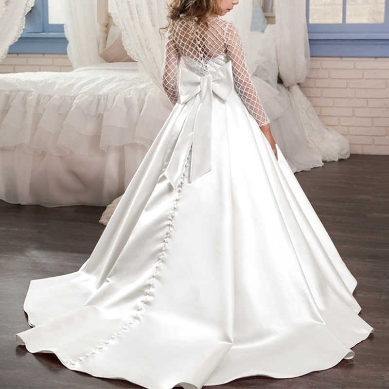 White Wedding Dresses For Kids Off 72 Buy