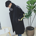 2016 leisure trend of locomotive loose cloth long and printed cotton thickening warm coat in the college of wind