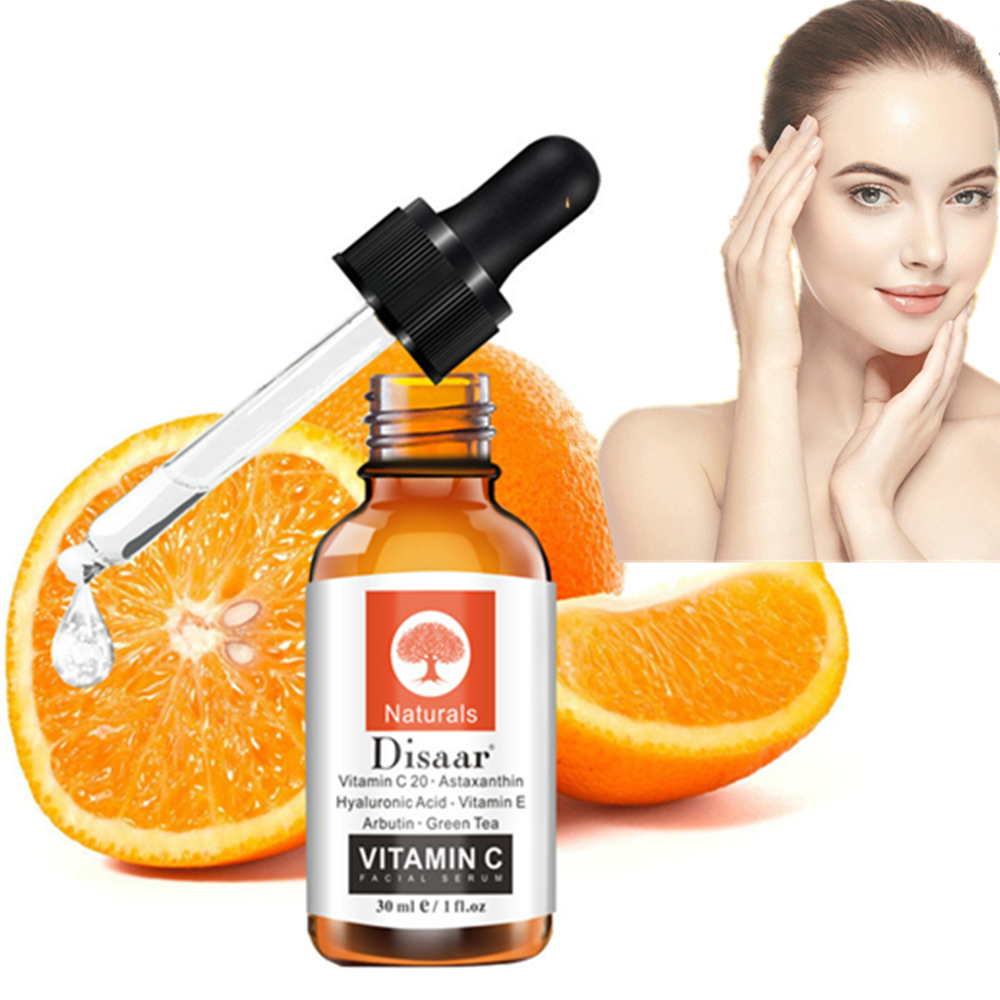 30ml Vitamin C 20 Face Facial Serum Serum Firming Repair Skin Anti Wrinkle Anti Acne Anti Aging Serum Skin Care