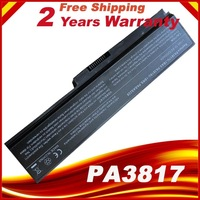 Laptop Batterij Voor Toshiba Satellite A655 A660 A665 C600 C640 C645 C650 C655 C660 C665 C670 PA3817U-1BAS PA3817U-1BRS