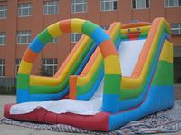 Colorful Slide With Arch