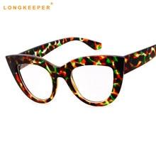 Moda colorida Do Olho de Gato Óculos Mulheres Armação de óculos Óptica  óculos De Leitura Computador armação armacao oculos de gr. c849b740e6