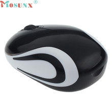 mosunx Mecall Cute Mini 2.4 GHz Wireless Optical Mouse Mice
