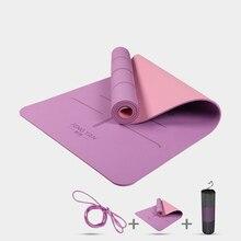 TPE Yoga Mat for Hot Yoga Pilates Gymnastics Bikram Meditation Towel-High  Density Thick( e080e2aa9e4c9