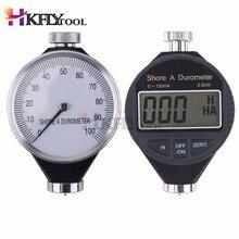 Цифровой Измеритель Твердости Резины 100HD C с дюрометром, высокая точность, ЖК-дисплей, аналоговый измеритель твердости шин