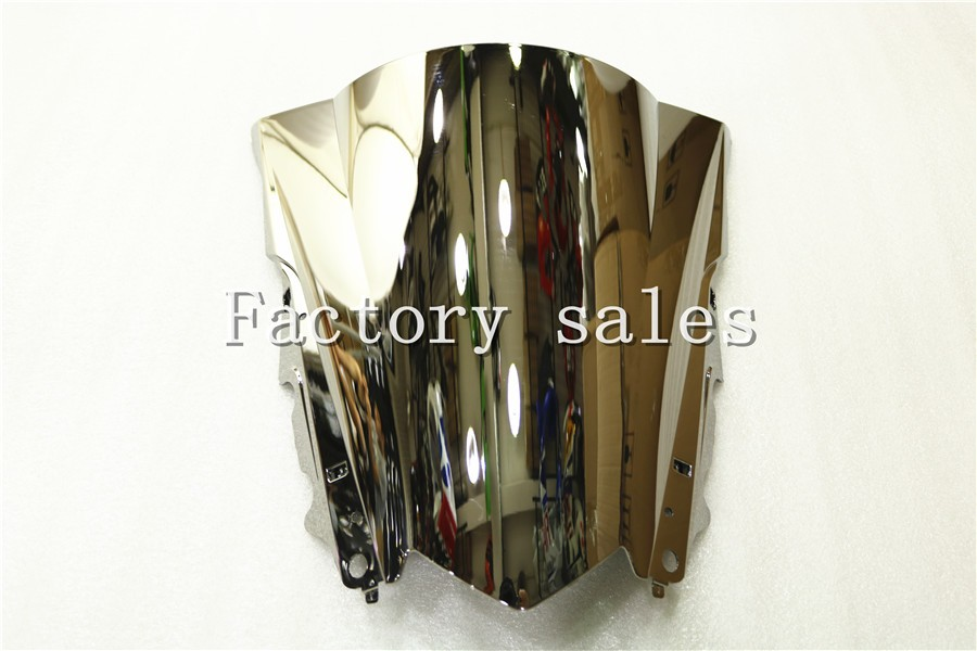 HotSale For Yamaha YZF R3 R25 2013 2014 2015 2016 silver Windshield WindScreen Double Bubble 13 14 15 16 R 25 3