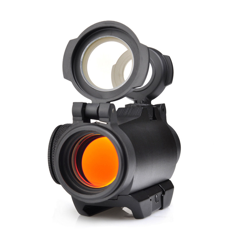 Seigneer tactical 2moa t2 red dot sight compact red dot scope habitação extrudido de alumínio de grande resistência para a compatibilidade nvd
