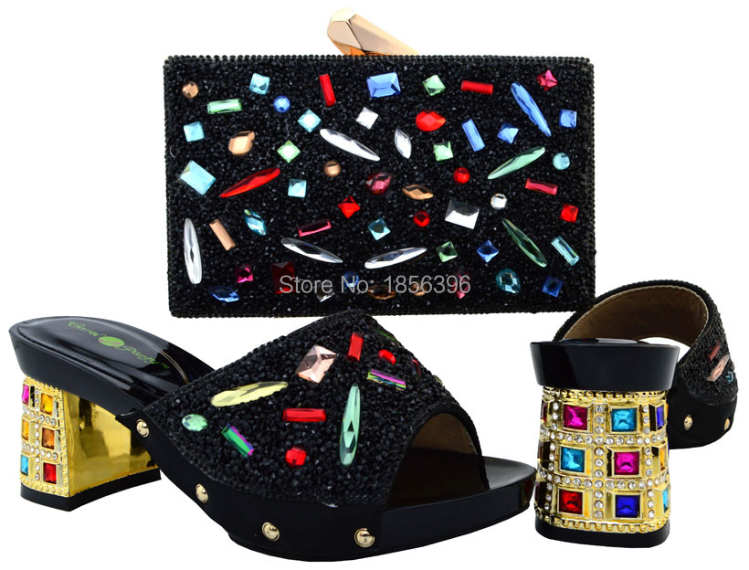 все цены на  DMF7213-3, women shoes high heel Italian Shoes with matching bags African shoes and bag to match women pumps high heels sandals  онлайн