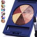 Spenny Top Quality Sexy Shimmer 6 Colors Baked Eye Shadow Makeup Colorful Shiny Mini Eyeshadow Smokey Eyeshadow Cosmetic Makeup