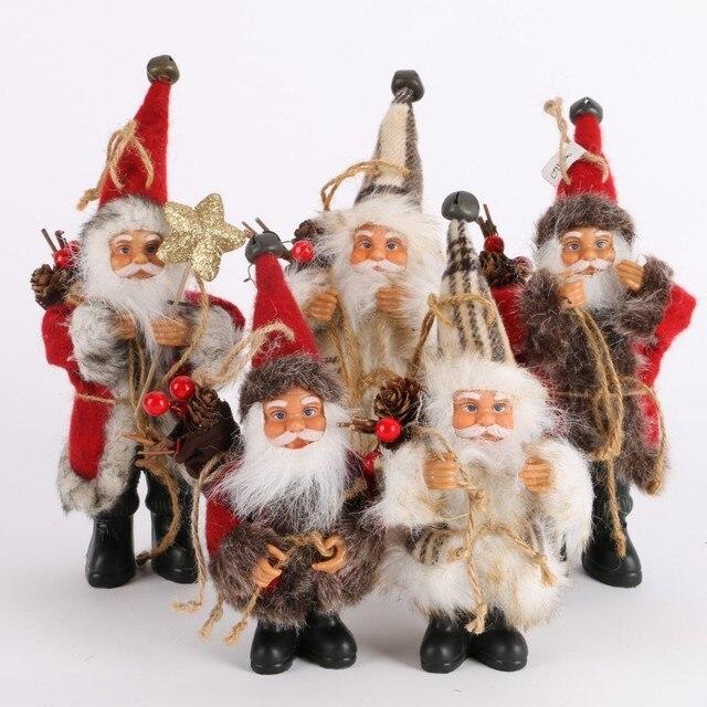 Lovely Candy Bag Christmas Tree Decor Ornaments Xmas Santa Claus Christmas Decoration Supplies