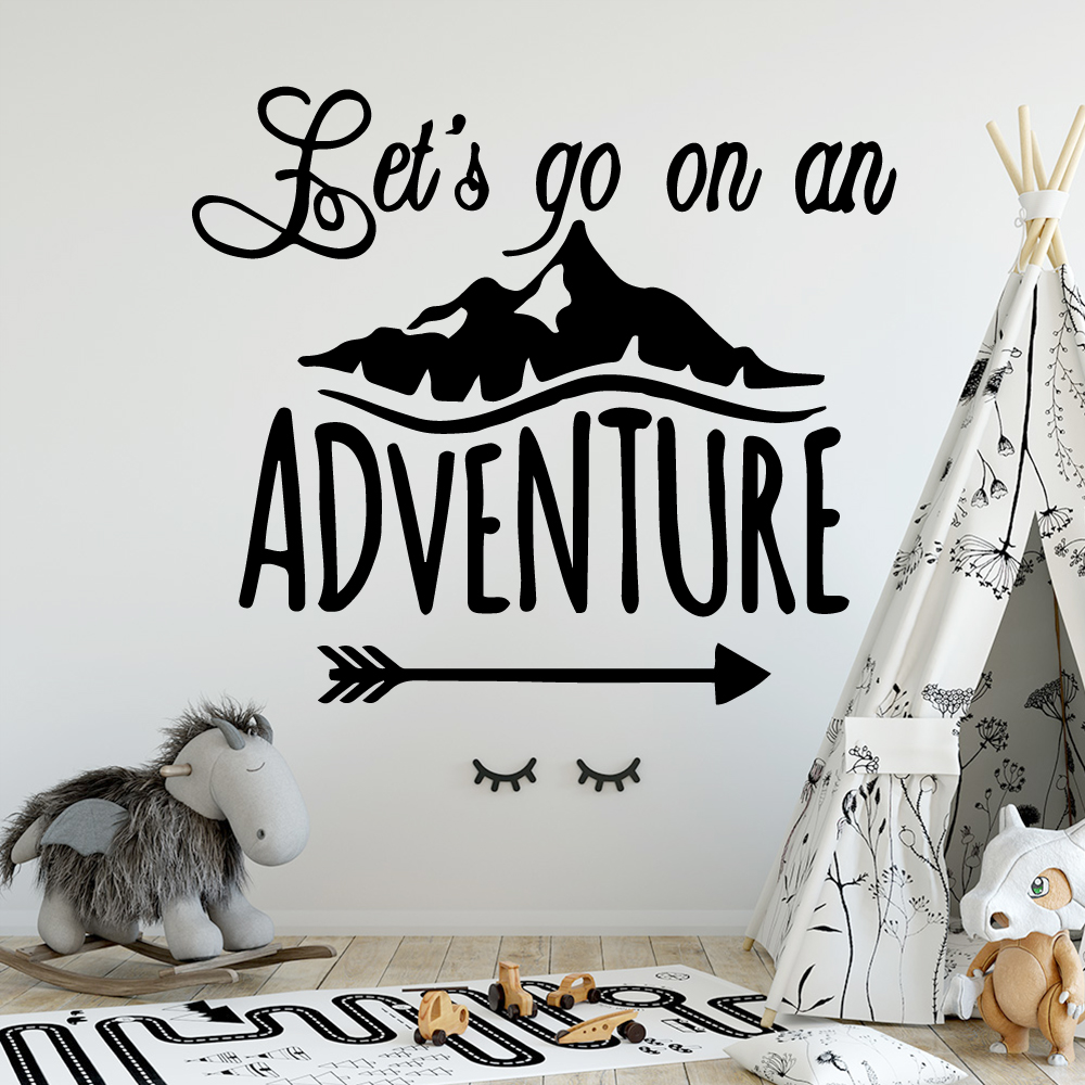 NEW sentence Home Decor Wall Stickers Decor Living Room Bedroom Removable For Kids Rooms Home Decor in Wall Stickers from Home Garden