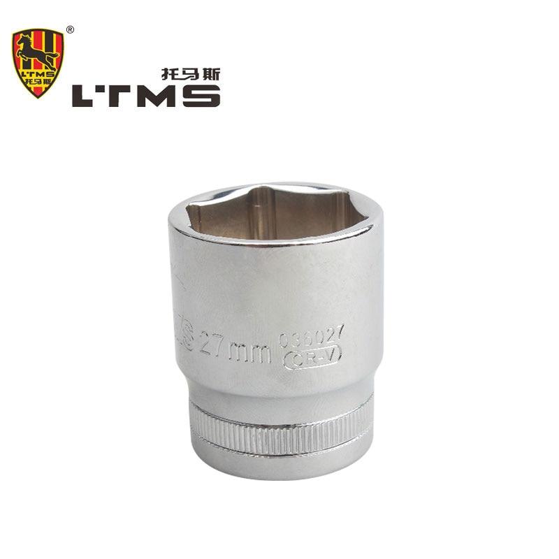 High Quality 27mm Hexagon Magnetic 1/2 Sleeve Hex Socket Head Screwdriver Tapping Drill Chrome Vanadium Steel Connector Rod Head  цены