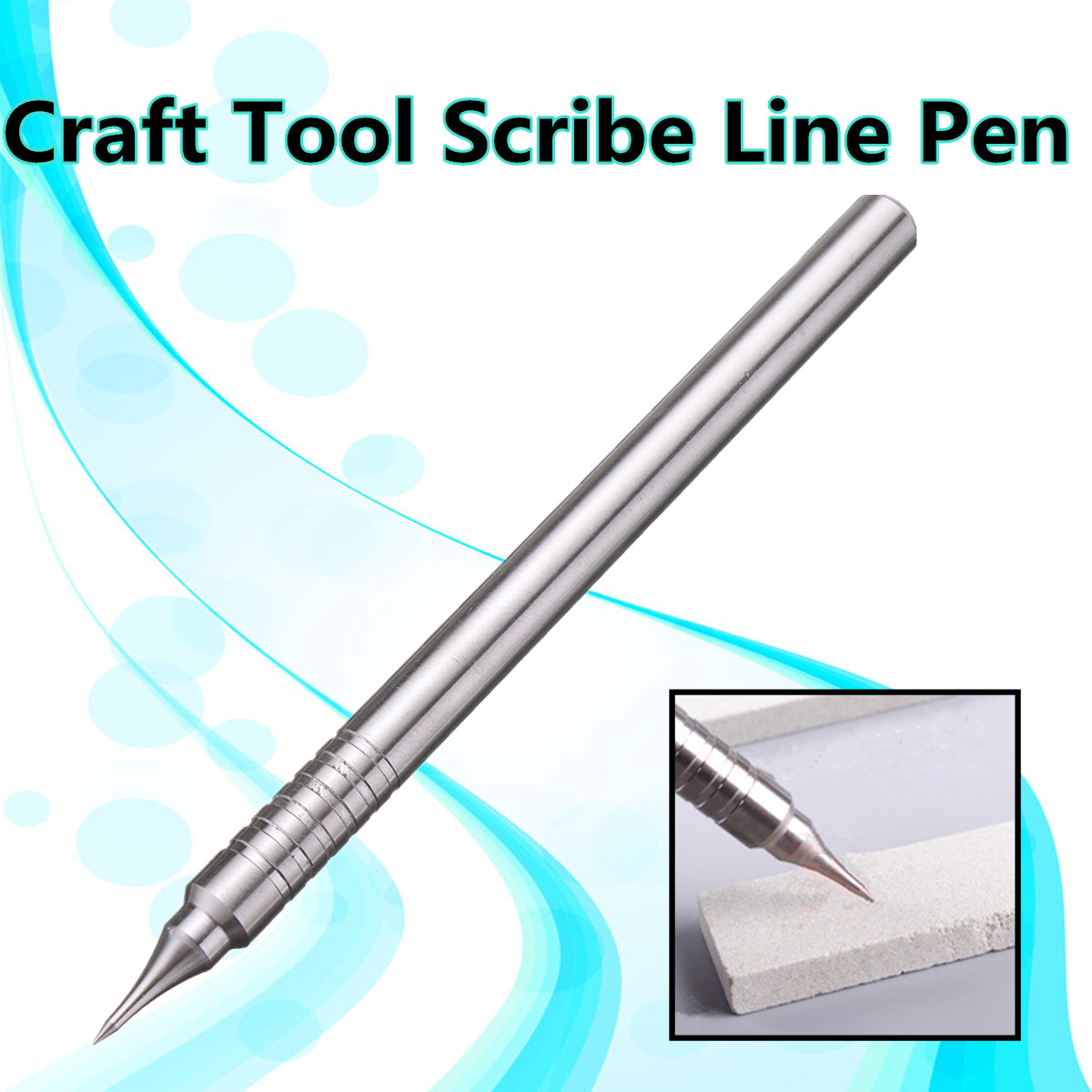 Stainless Steel Model Tools Plane Gundam Scriber Craft Tool Scribe Line Pen new phoenix 11207 b777 300er pk gii 1 400 skyteam aviation indonesia commercial jetliners plane model hobby