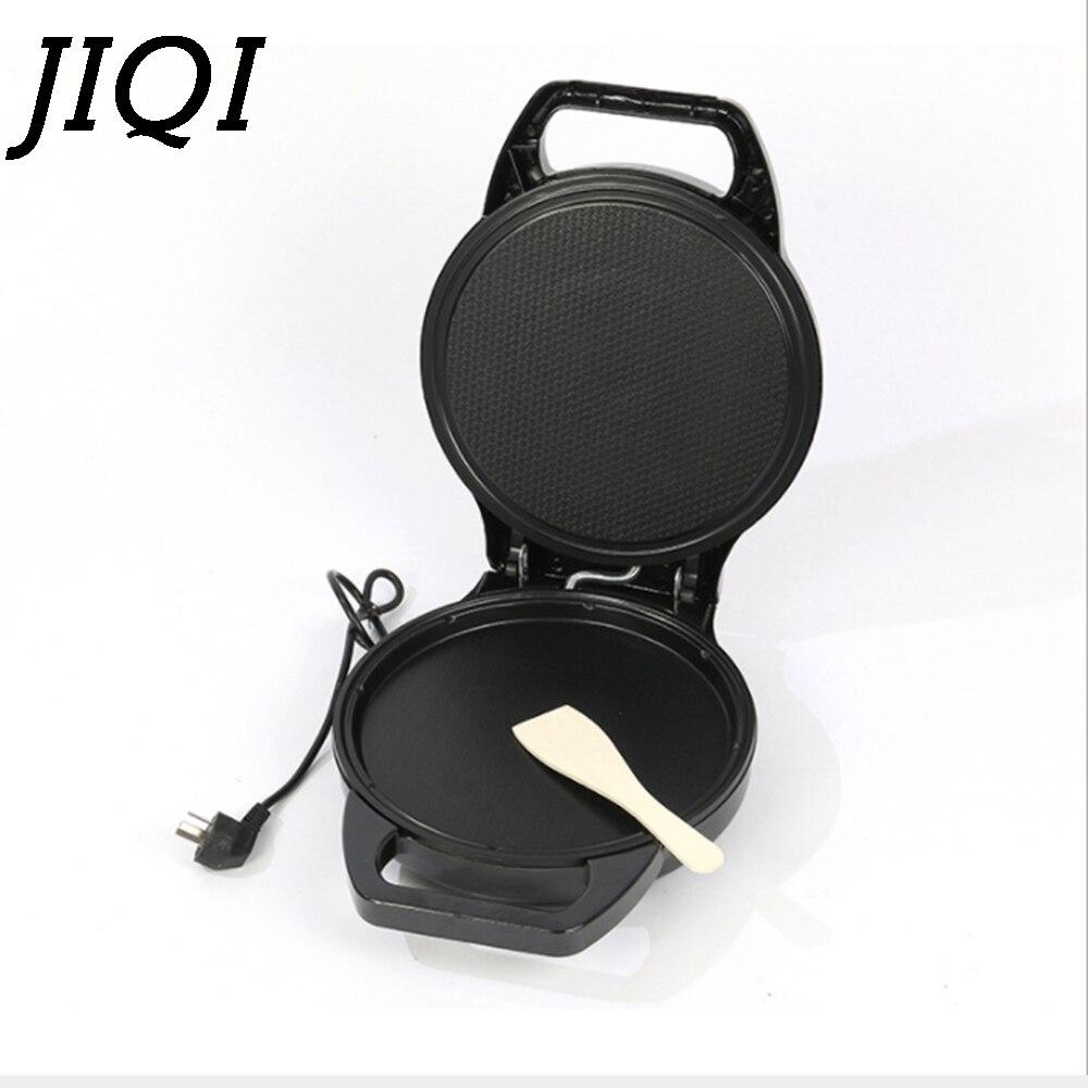 JIQI poêle à Pizza électrique multifonction crêpière poêle Machine à crêpes gril Double face cuisson Steak poêle