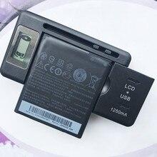2100mAh BM65100 Battery For HTC Desire 601 501 510 619D ZARA 700 7060 6160 7088 E1 603e Cell Phone With LCD Desktop Charger стоимость