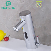 NIENENG infrared sensor faucet automatic faucets basin mixer bathroom products sink mixer water taps home appliances ICD60250