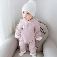2016 Autumn Winter Newborn Baby Boy Girl Rompers Leisure Body Suit Clothing Toddler Jumpsuit Child Brand