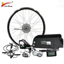 26″ 700C(28″) 48V 350W 500W Electric Bike Kit Front Motor Wheel with 48V10A/Samsung12A/LG16A e Bike Electric Bike conversion Kit