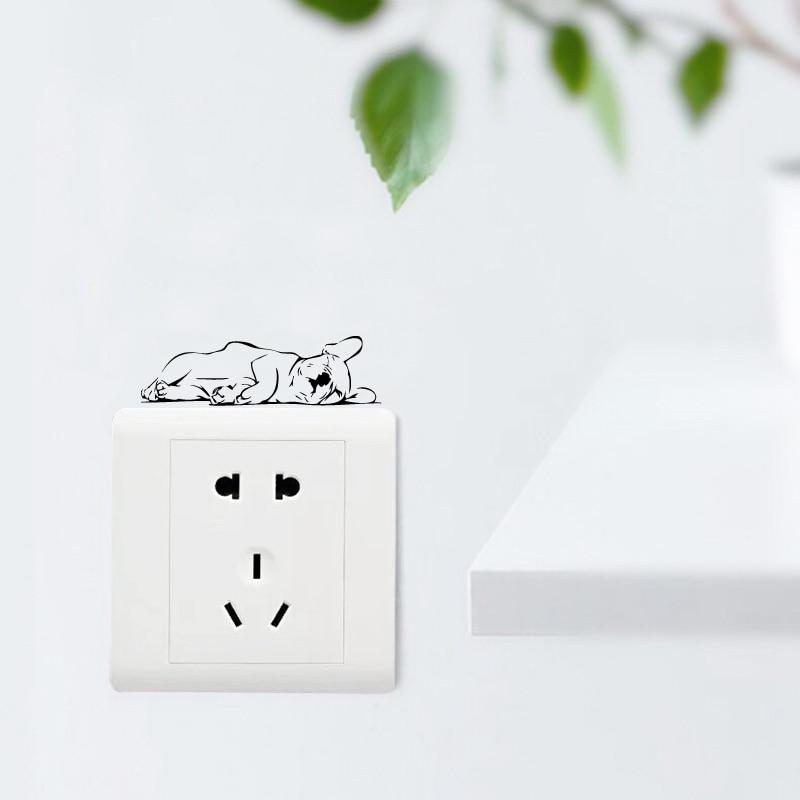 French Bulldog switch Sticker