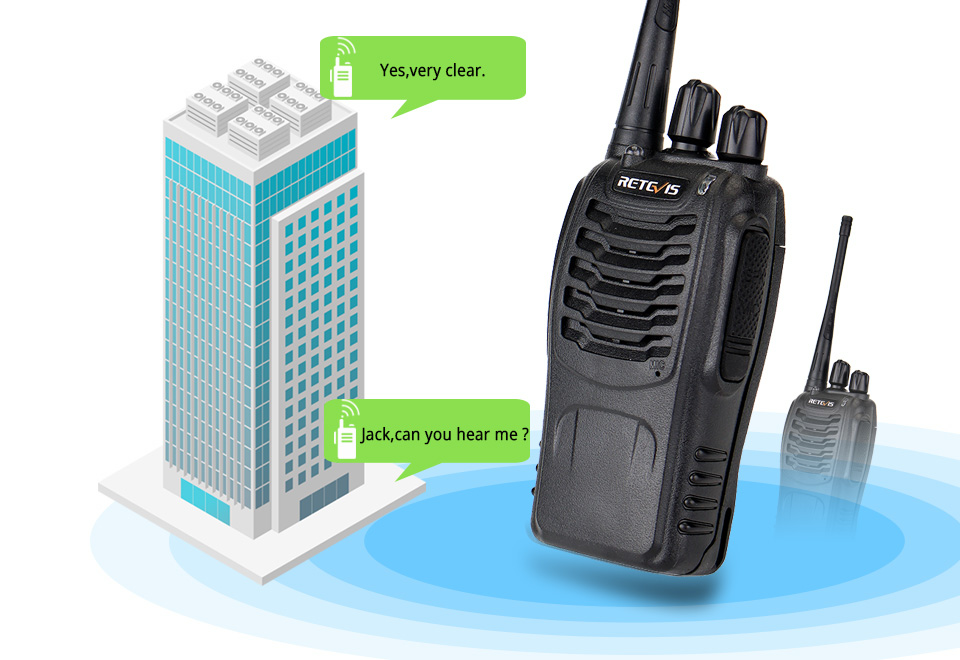 REETVIS H777 two way radio walkie talkie (1)