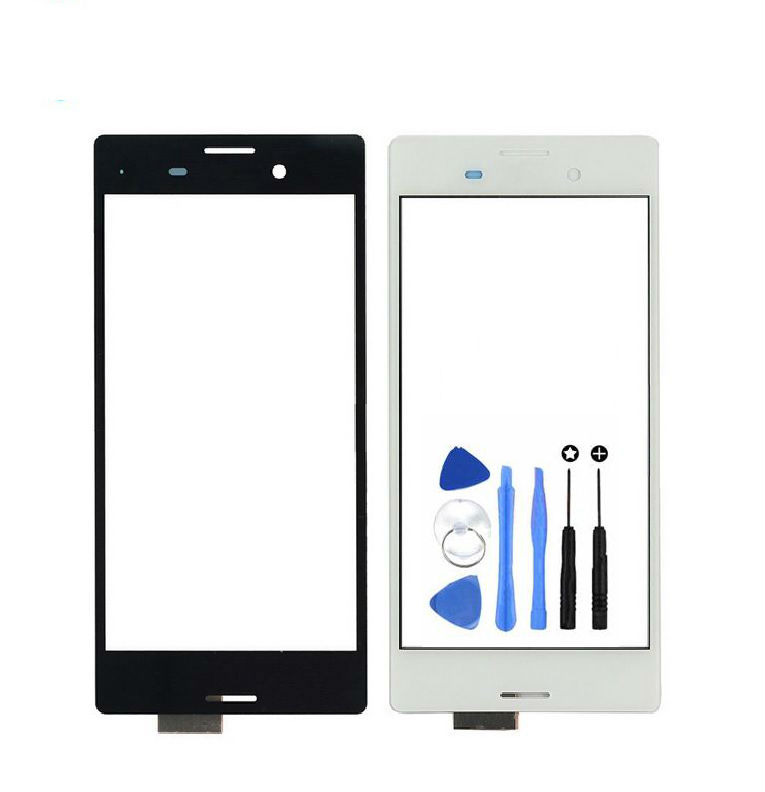 Vannego Free Shipping Touch Screen Digitizer Glass Lens Sensor Parts for Sony Xperia M4 Aqua E2303 E2333 E2353 Touch Panel