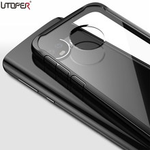 UTOPER Case For Moto G5s Plus Case Cover For Moto G6 Plus Coque Transparent Back Cover For Moto E5 Plus Case For Moto Z2 Z3 Play(China)