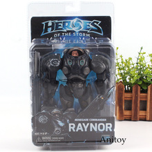 Action Figure NECA Heroes Of The Storm Raynor Renegade Commander PVC Heroes of the Storm Neca Toys Figure 17cm