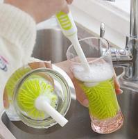 Nano Suave-cerda Longa-tratado Copo Escova de Limpeza escova de Limpeza Escova de Garrafa de Isolamento Térmico