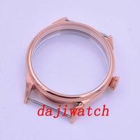 40mm PARNIS Sapphire Glass Polished Steel Watch Case fit ETA 2836 DG2813 3804 MIYOTA