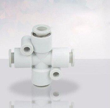 tube size 4mm pneumatic cross fitting