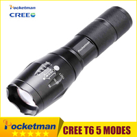 Zk96 High Bright E17 3800 Lumens CREE XM L T6 LED Flashlight 5Mode Zoomable Linternas LED