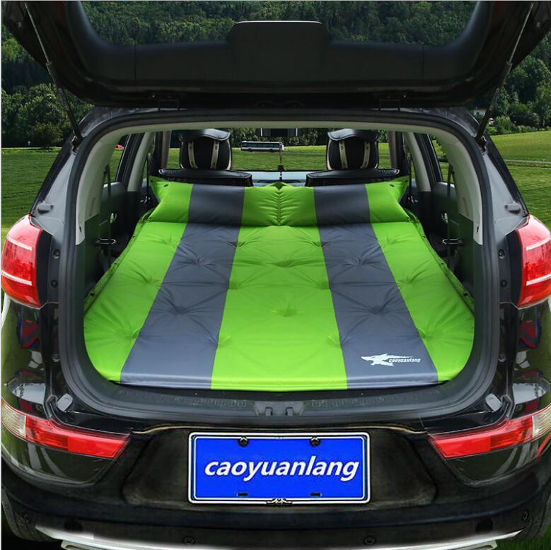Автоматическая надувные большой Размеры внедорожник Автомобильная надувная кровать открытый автомобильное путешествие кровать с воздушн