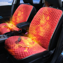 2017 Car Heated Cover Car Electric Heated Seat Cushion Heating For Mitsubishi Lancer Galant ASX Pajero sport V73 V93 V95 V97