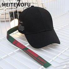 купить 2019 New women Baseball Cap summer men Fashion Spring Casual Caps Long band street dance Hat Unisex Hats For Adult Sun Gorros дешево