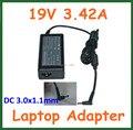 10 шт. 19 В 3.42A 65 Вт адаптер переменного тока зарядное устройство для Acer Aspire P3 S5 S7 S7-391 S7-391-6822 Ultrabook адаптер питания