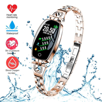 Women Bracelet Smart Watch Fitness Tracker Blood Pressure Heart Rate Sleep Monitor Smart Bracelet Fitness Band Watch For Women