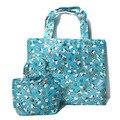 Cute Kawaii Snoopie Dog Cartoon Portable Folding Reusable Shopping Bag Eco Waterproof Tote Bags Handbag High Capacity