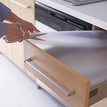 Водонепроницаемый коврик для кухонного стола ящики шкаф полки вкладыши Нескользящие Коврик для буфета Организация дома аксессуары
