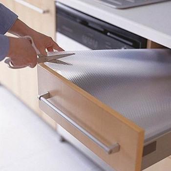 Wodoodporna podkładka na stół kuchenny szafka z szufladami półki antypoślizgowe szafka podkładka organizacja domu akcesoria tanie i dobre opinie B650288