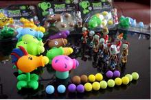 19set 2016 anime Plants vs Zombies Peashooter PVC font b Action b font font b Figures