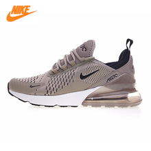 Nike Air Max 270 Men's Running Shoes ,Original Sports Outdoor Sneakers Shoes, Green Grey, Breathable  AH8050-010 AH8050-030