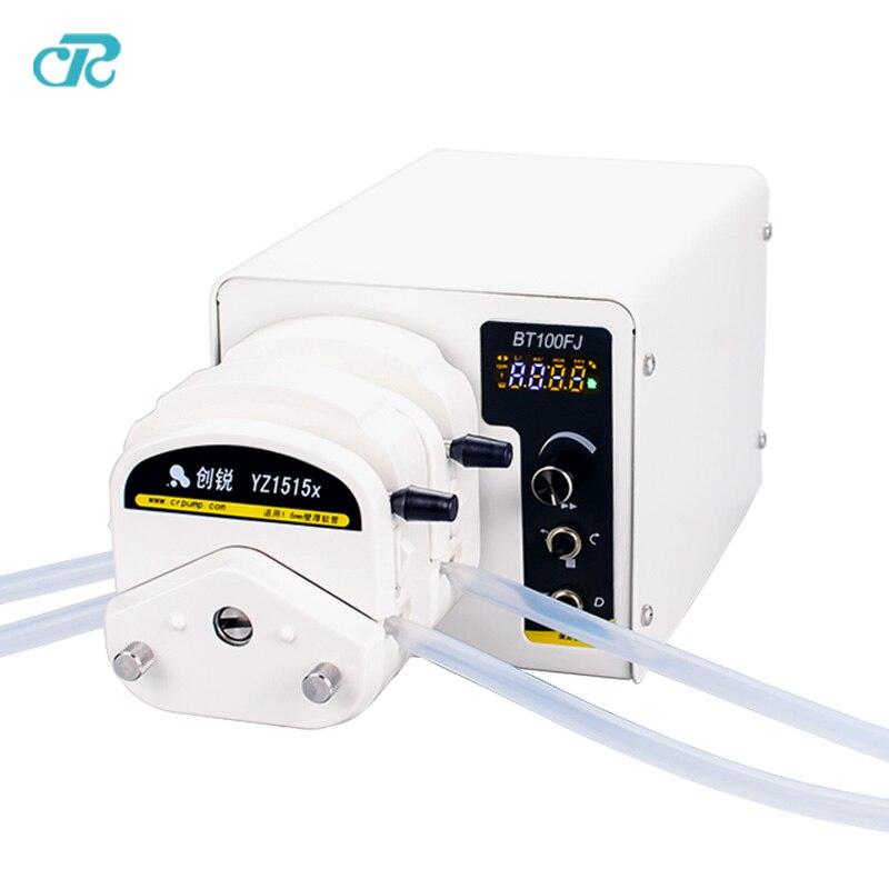 Высокая точность светодиодный дисплей моторное масло дозирования Перистальтический Насос