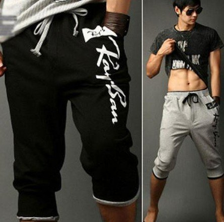 Stylish Mens Casual Cool Sport Rope Shorts Pants Jogging Trousers  / free shipping